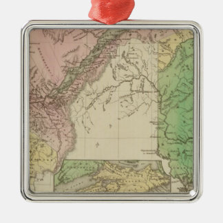 Lower Canada and New Brunswick Christmas Ornament