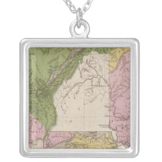 Lower Canada And New Brunswick Silver Plated Necklace