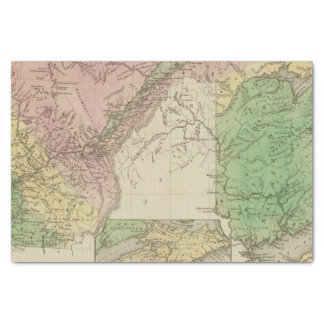 Lower Canada and New Brunswick Tissue Paper