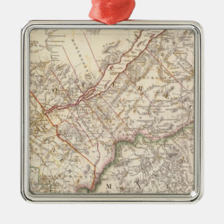 Lower Canada, NB, NY, Vt, Maine Christmas Ornament
