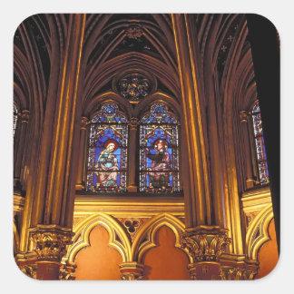 Lower chapel of La Sainte-Chapelle, Paris, 2 Stickers