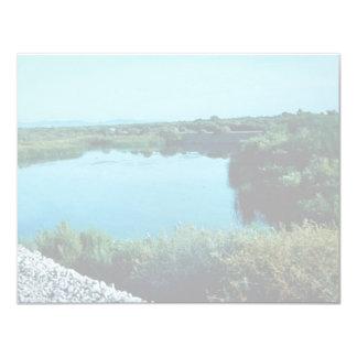 """Lower Colorado River 4.25"""" X 5.5"""" Invitation Card"""