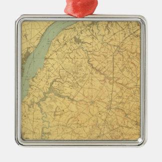 Lower Delaware Christmas Ornament
