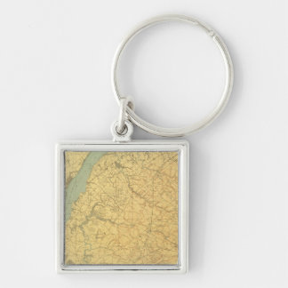 Lower Delaware Key Ring