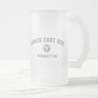 Lower East Side Frosted Glass Mug