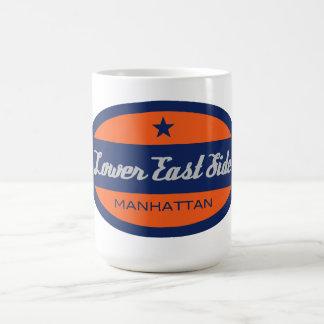 Lower East Side Basic White Mug
