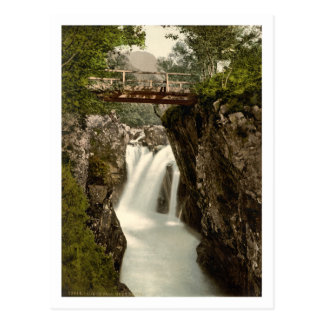 Lower Fall, Glen Nevis, Fort William, Scotland Postcard