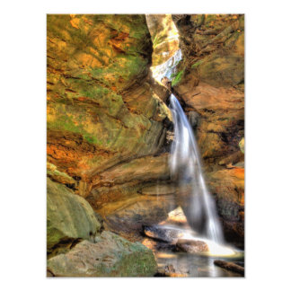 Lower Falls, Conkle's Hollow, Hocking Hills, Ohio Photo Print