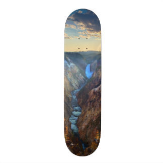 Lower Falls from Artist's Point Custom Skate Board