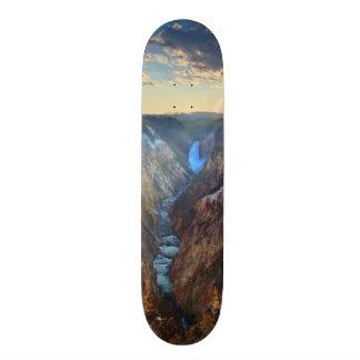 Lower Falls from Artist's Point Custom Skate Board