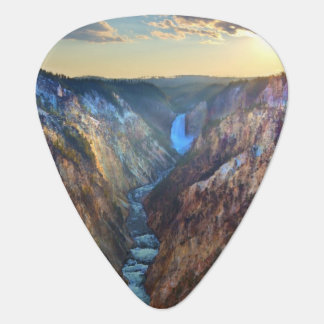 Lower Falls from Artist's Point Guitar Pick