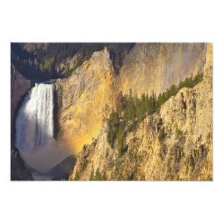 Lower Falls in the Grand Canyon of the Photographic Print