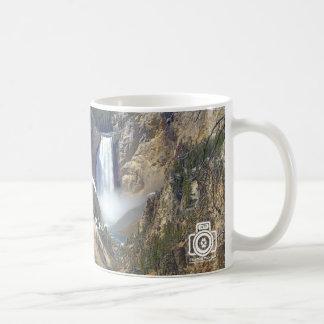 Lower Falls of Yellowstone Mug