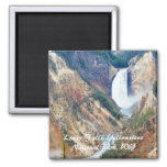 Lower Falls, Yellowstone Park, WY Magnets