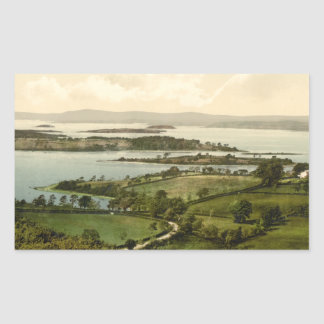Lower Lough Erne, Co Fermanagh, Northern Ireland Rectangular Sticker