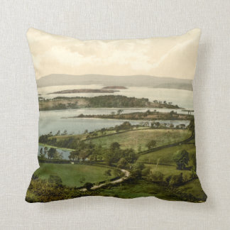 Lower Lough Erne, Co Fermanagh, Northern Ireland Throw Pillow