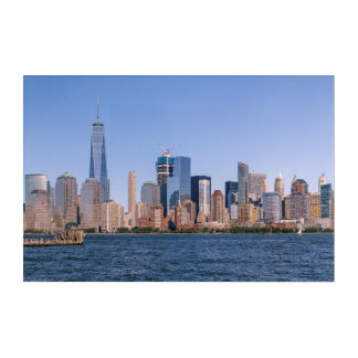 Lower Manhattan Skyline Acrylic Wall Art