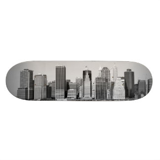 lower Manhattan Skyline, New York City Skate Deck