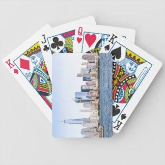 Lower Manhattan Skyline Playing Cards