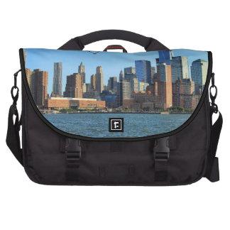 Lower Manhattan Skyline WTC Woolworth Bag For Laptop