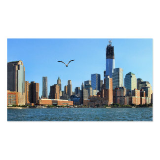 Lower Manhattan Skyline: WTC, Woolworth Pack Of Standard Business Cards