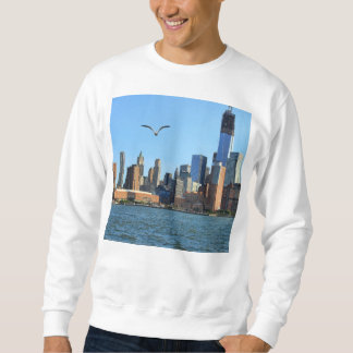 Lower Manhattan Skyline: WTC, Woolworth Sweatshirt