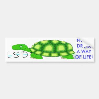 Lower Slower Delaware Bumper Sticker
