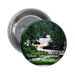 Lower Tahquamenon Falls, Michigan 6 Cm Round Badge