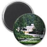 Lower Tahquamenon Falls, Michigan Fridge Magnet