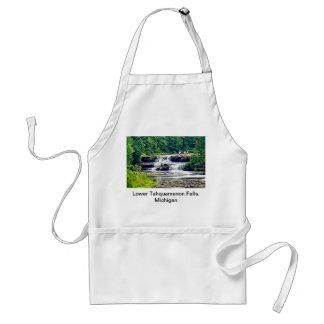 Lower Tahquamenon Falls & People, Michigan Standard Apron