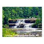 Lower Tahquamenon Falls & People, Michigan Post Card