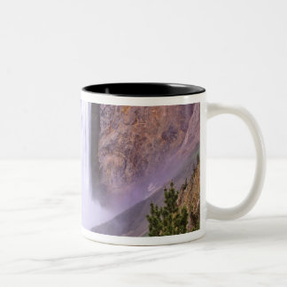 Lower Yellowstone Falls, Grand Canyon of Two-Tone Coffee Mug