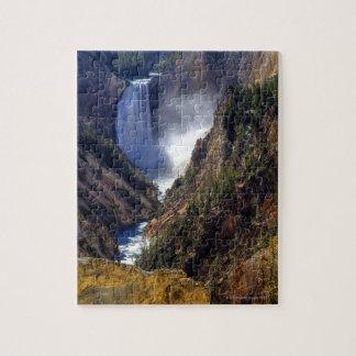 Lower Yellowstone Falls, Yellowstone National Jigsaw Puzzle