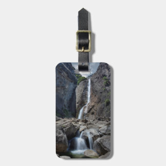 Lower Yosemite Falls Luggage Tag