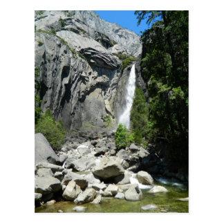 Lower Yosemite Falls Post Card