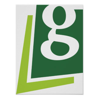 Lowercase G Poster