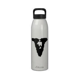 Lowercase Letter V Reusable Water Bottles