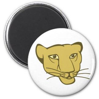 Löwin lioness refrigerator magnets