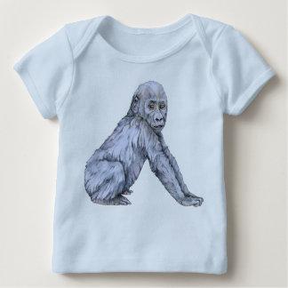 Lowland Gorilla Baby Baby T-Shirt