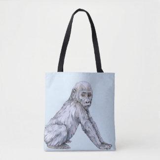 Lowland Gorilla Baby Tote Bag