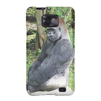 Lowland Gorilla in Sitting Pose Galaxy SII Covers