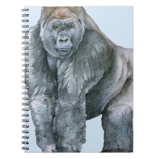 Lowland Gorilla Silverback Notebook