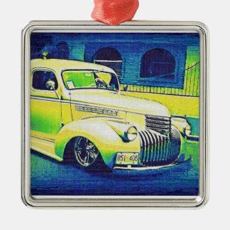 Lowrider Vintage Automobile Christmas Ornament