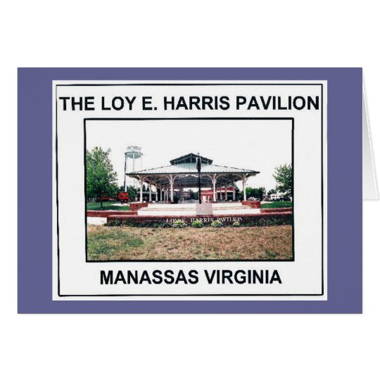 LOY E. HARRIS PAVILION 3 - Customised Card
