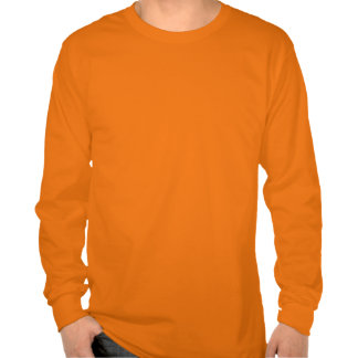 LOYAL in Team Colors Orange and White  Tshirts