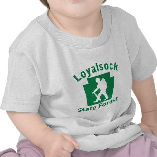 Loyalsock SF Hike (male) T Shirts