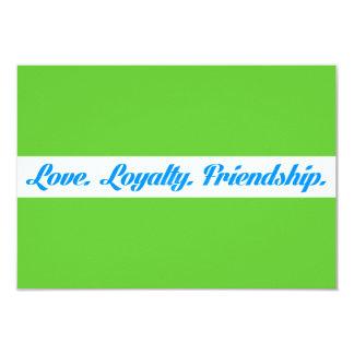 loyalty3 LOVE LOYALTY FRIENDS QUOTES FRIENDSHIP 9 Cm X 13 Cm Invitation Card