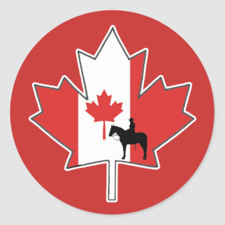 Loyalty And Honour Canada Day Stickers