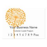 Loyalty Card :: Orange Dandelion