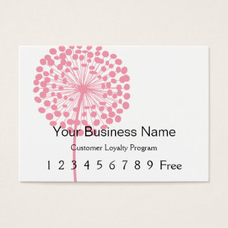 Loyalty Card :: Pink Dandelion